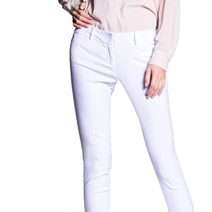 Women's Straight Pants Stretch Slim Skinny Solid